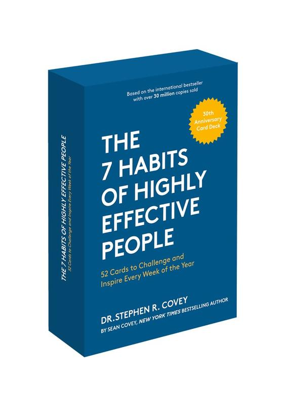 7 Habits of Highly Effective People: 30th Anniversary Card Deck