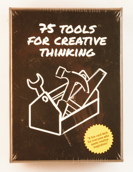 75 tools for creative thinking card set