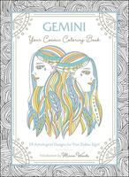 Gemini: Your Cosmic Coloring Book : 24 Astrological Designs for Your Zodiac Sign!