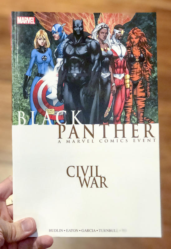 Civil War: Black Panther New Printing