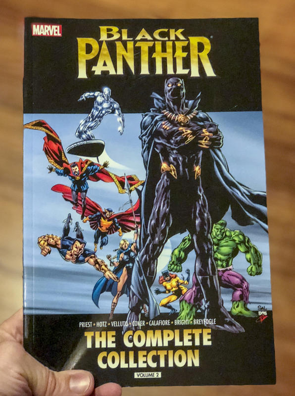 Black Panther The Complete Collection Volume 2