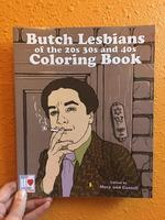 Butch Lesbians of the 20s, 30s, and 40s Coloring Book