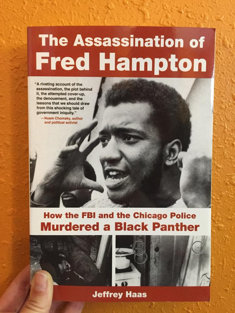 a photo of fred hampton gesturing