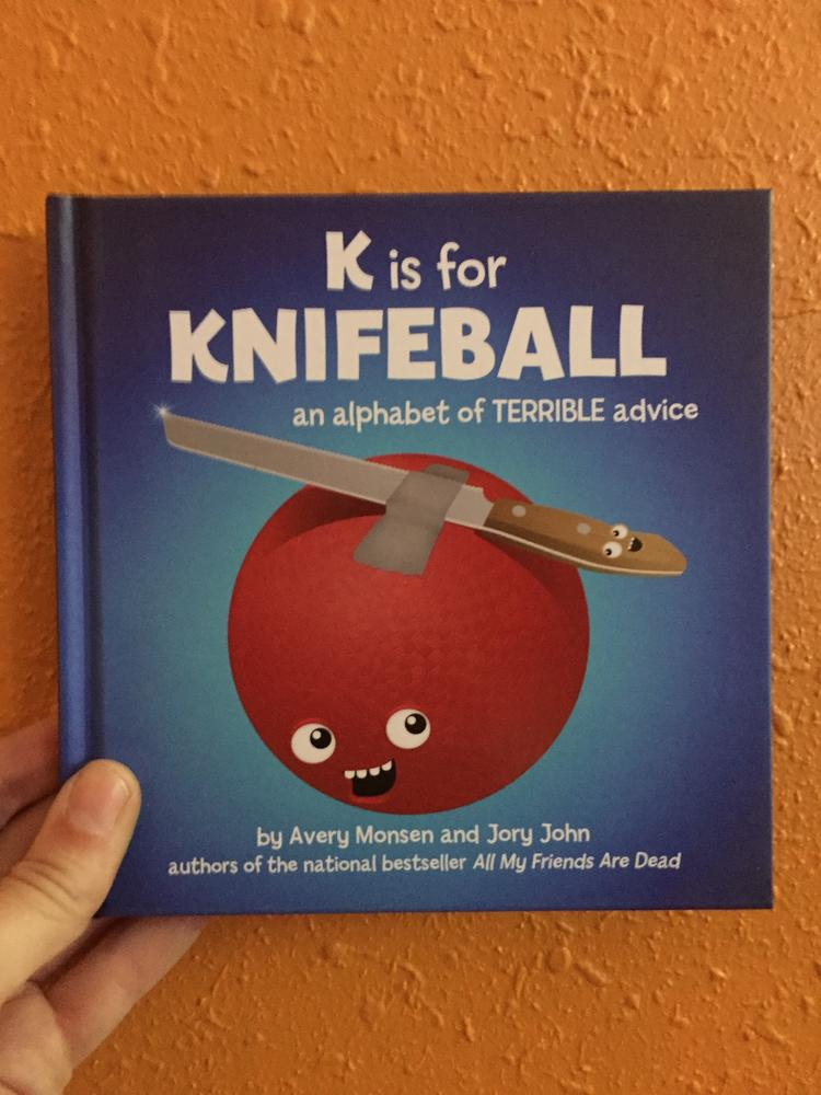 K is for Knifeball blowup