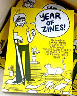 Year of Zines: In Which Sarah Mirk (That's Me!) Somewhat Obsessively Tries to Make a Zine Every Day For a Year