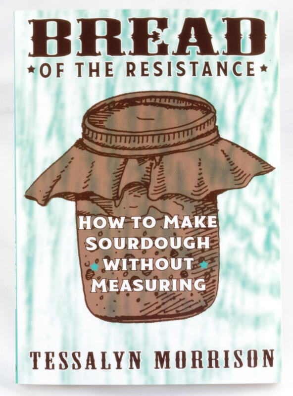 book cover showing a jar of fermenting dough