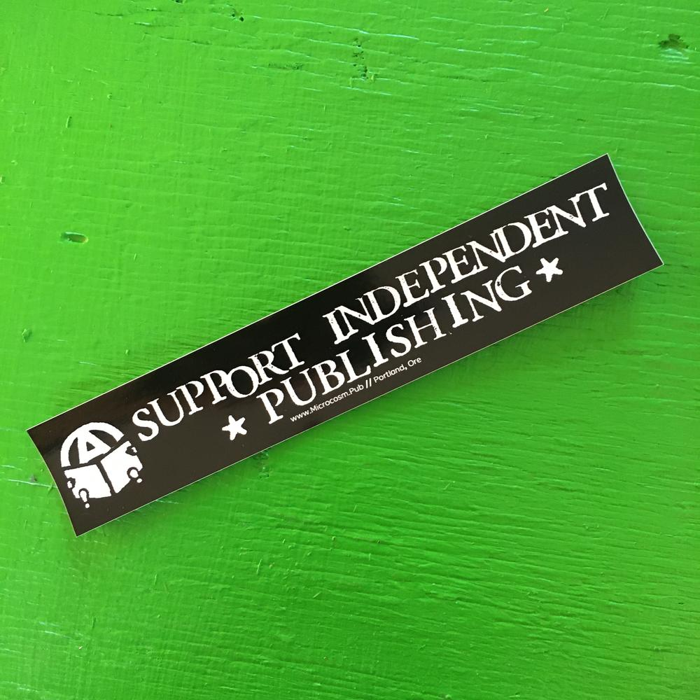 Sticker #260: Support Independent Publishing
