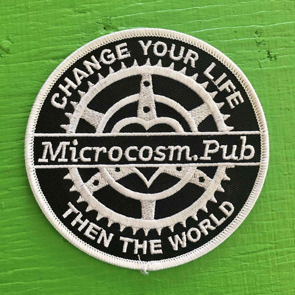 Change Your Life then the World - embroidered patch