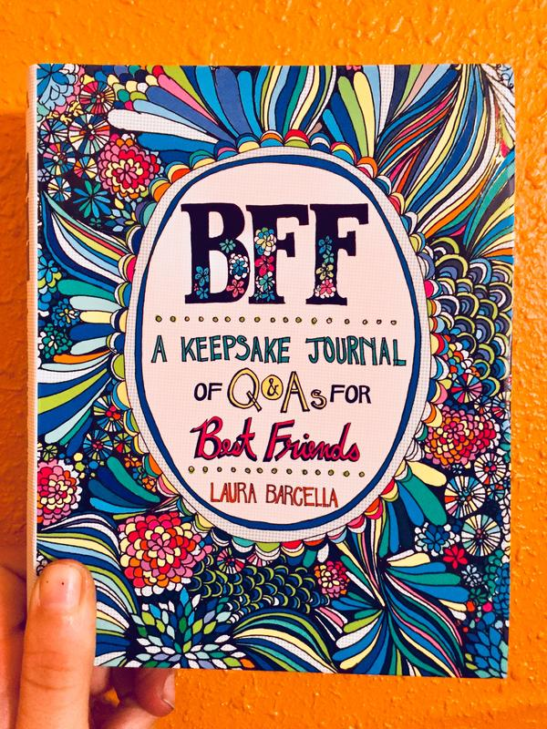 BFF: A Keepsake Journal of Q&As for Best Friends blowup
