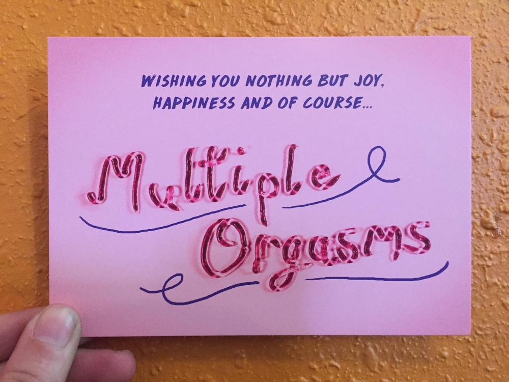 Wishing You Nothing but Joy, Happiness and of course... Multiple Orgasms
