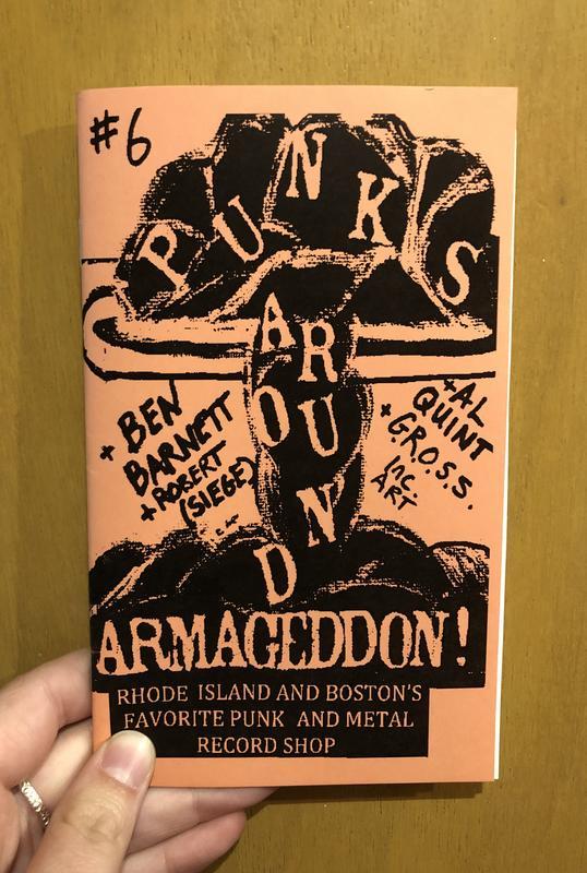 Punks Around #6: Armageddon Rhode Island and Boston's Favorite Punk and Metal Record Shop
