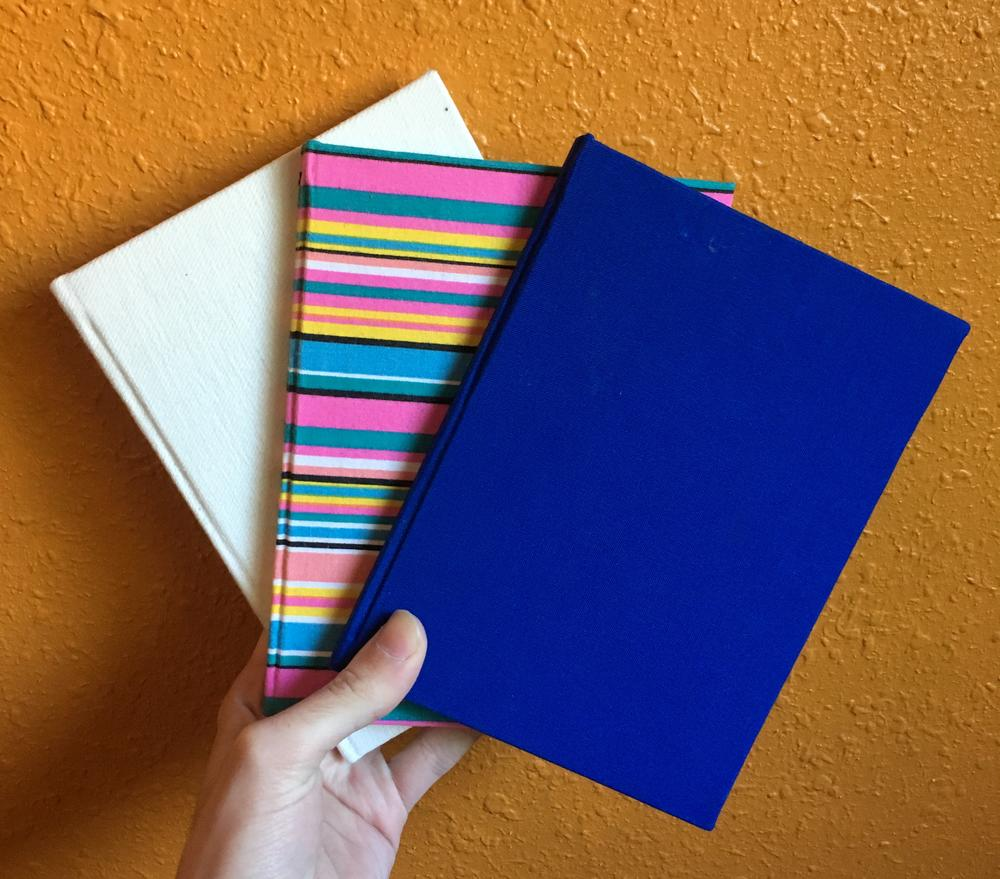 Blank Handmade Notebook