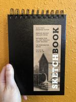 Sketchbook (Basic Small Spiral Fliptop Landscape Black)