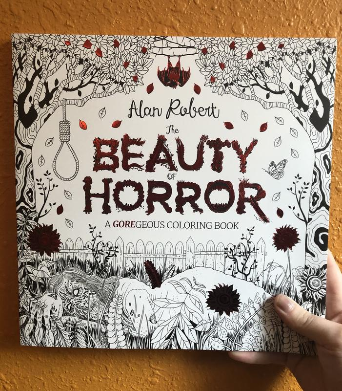 Beauty of Horror 1: A GOREgeous Coloring Book