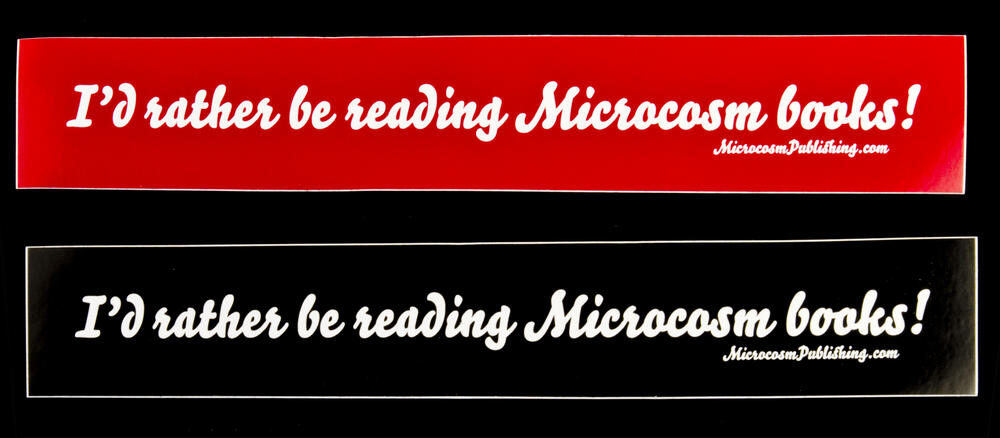 I'd rather be reading Microcosm books!