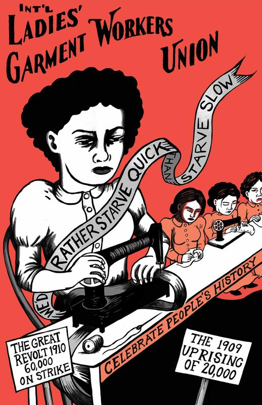 Int'l Ladies' Garment Workers Union poster