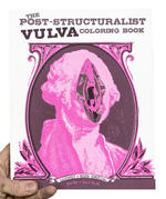 Post-Structuralist Vulva Coloring Book