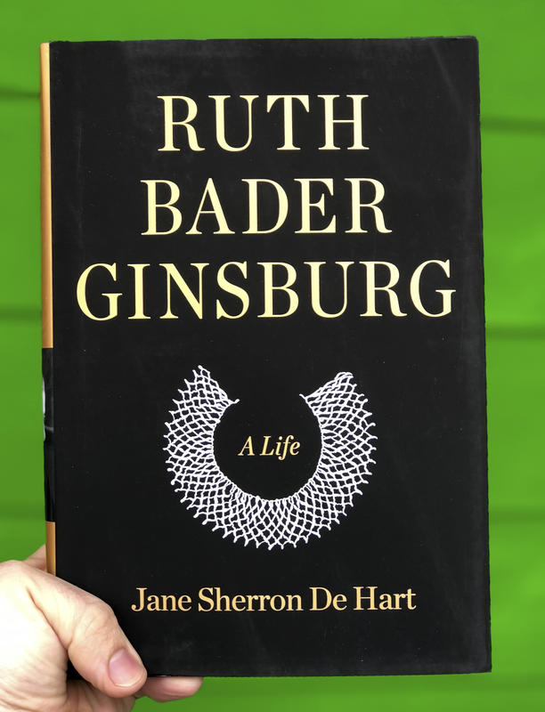 An illustration of one of Ruth Bader Ginsburg's colar.