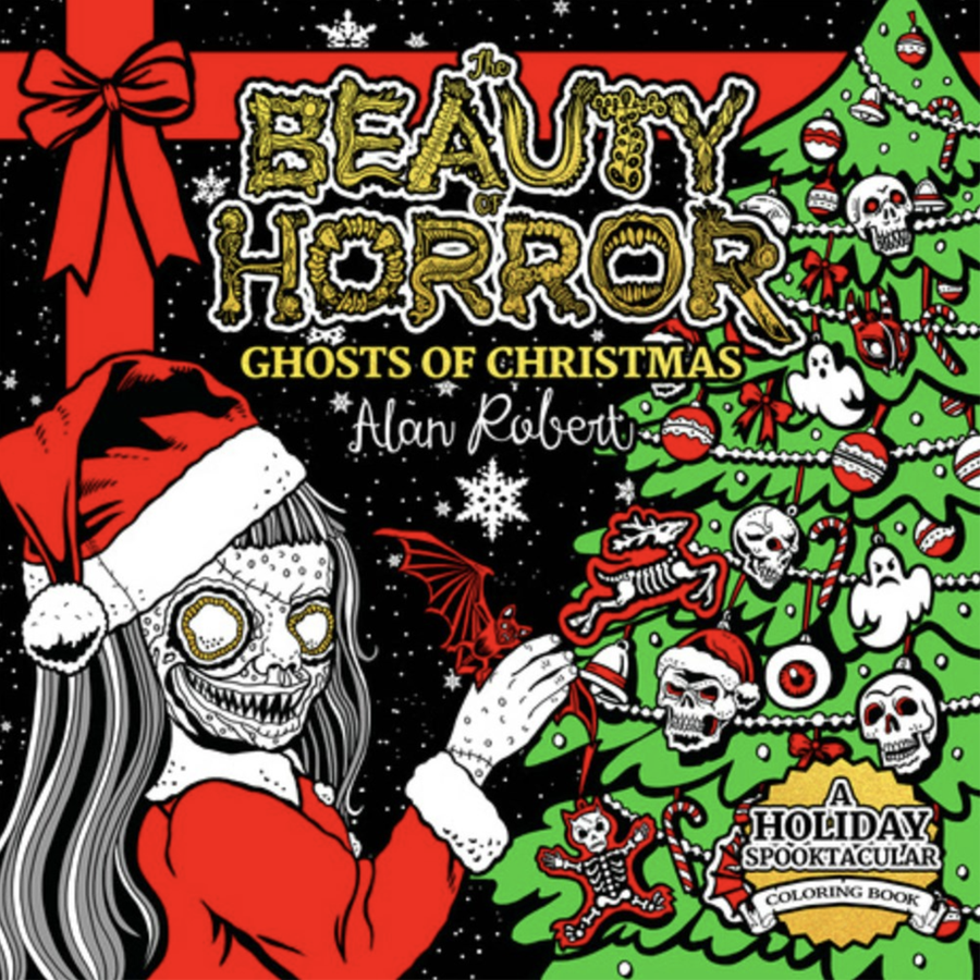 Beauty of Horror: Ghosts of Christmas Coloring Book