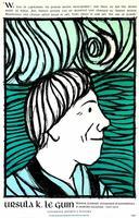 Ursula K. Le Guin poster