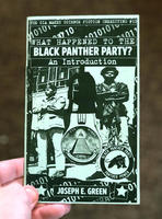 The CIA Makes Science Fiction Unexciting #10: What Happened to the Black Panther Party?