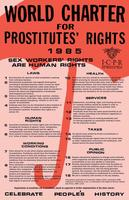 World Charter for Prostitutes' Rights poster