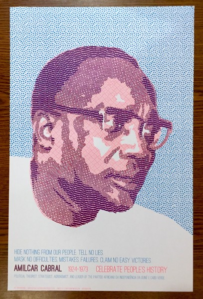 Amilcar Cabral poster blowup
