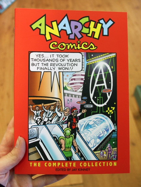 Anarchy Comics Complete Collection by Jay Kinney