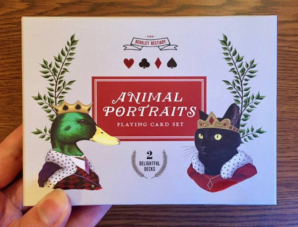 Animal Portraits: Playing Card Set