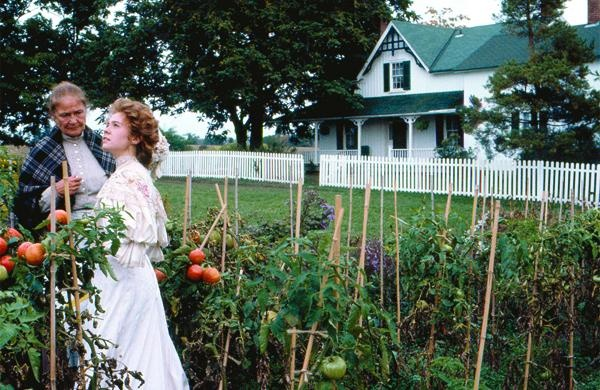 anne of green gables in the herb garden