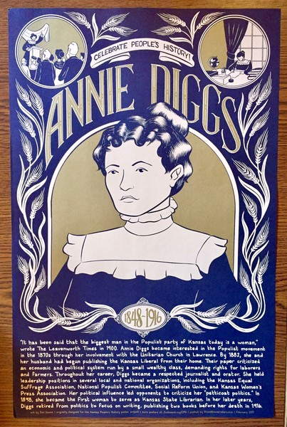 Annie Diggs poster