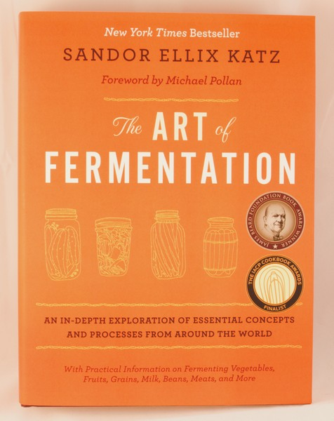 The Art of Fermentation by Sandor Ellix Katz blowup