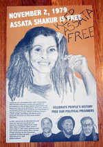 Assata Shakur is Free poster
