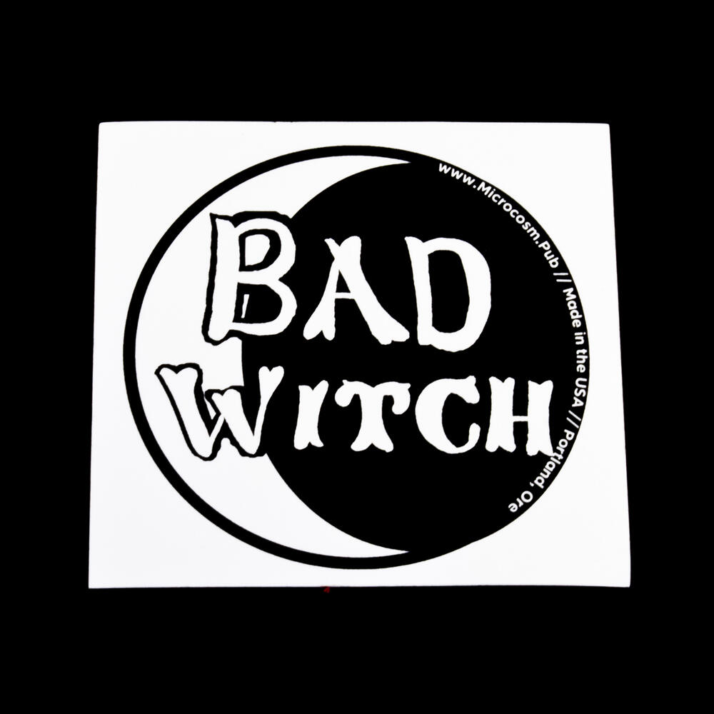 Sticker #443: Bad Witch