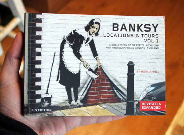 Banksy Location and Tours: A Collection of Graffiti Locations and Photographs in London, England