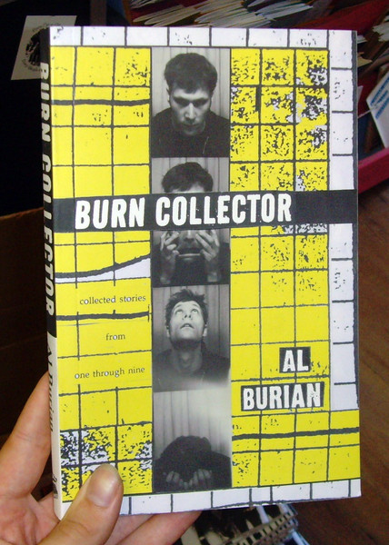Burn Collector 1-9 by Al Burian book cover