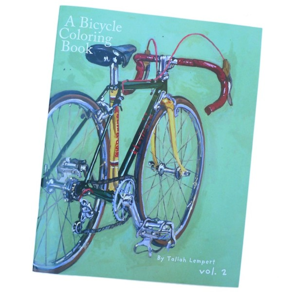 Bicycle Coloring Book, A