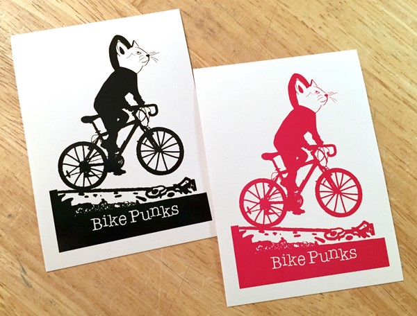 Sticker #126: Bike Punks