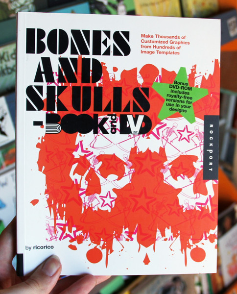 Bones And Skulls book and dvd by ricorico