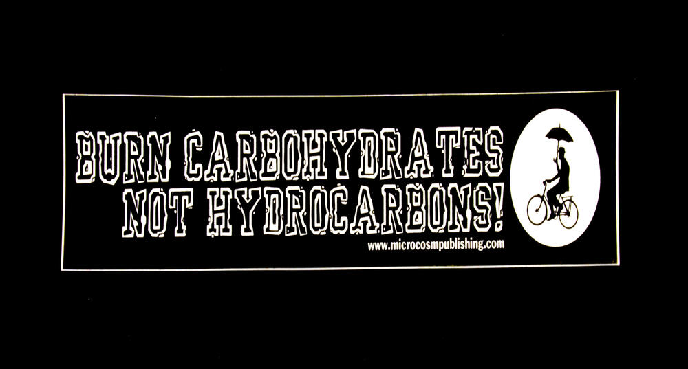 Burn Carbohydrates, Not Hydrocarbons
