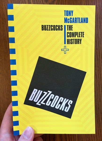 Buzzcocks: The Complete History by Tony McGartland