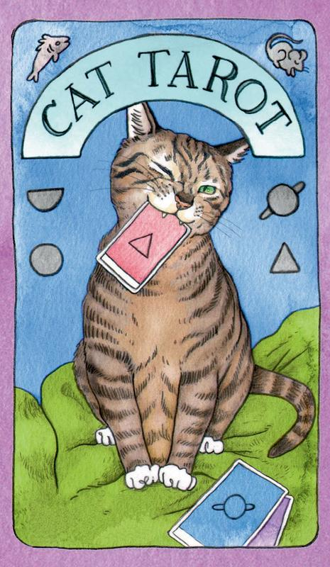 Cat Tarot: 78 Cards & Guidebook