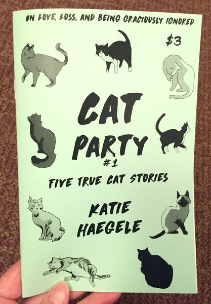Cat Party #1: Five True Cat Stories