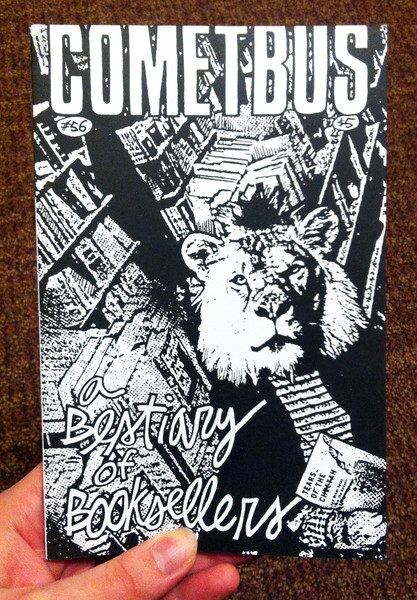 Aaron Cometbus 56 A Bestiary of Booksellers zine cover
