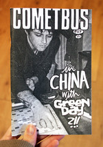 Cometbus #54: In China with Green Day