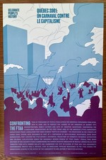 Québec 2001: Confronting The FTAA poster