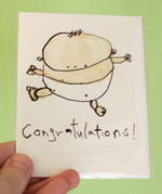 Congratulations! greeting card (baby)