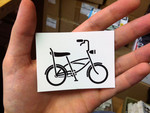 Sticker #294: Cruiser Bike