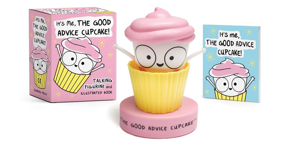 It's Me, The Good Advice Cupcake! blowup