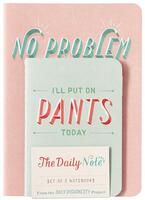 The Daily Notes (Set of 3 Notebooks)